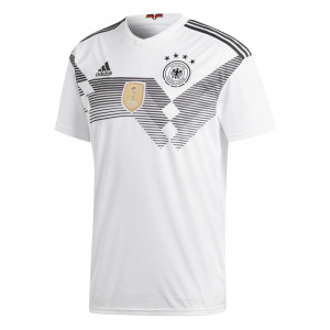 ADIDAS ALLEMAGNE MAILLOT DOMICILE BLANC 2018