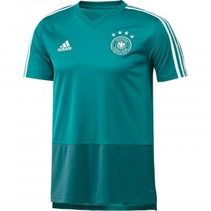 ADIDAS ALLEMAGNE TRG JSY TURQUOISE 2018