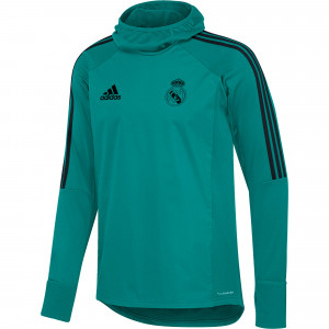ADIDAS REAL MADRID WARM TOP TURQUOISE 2018