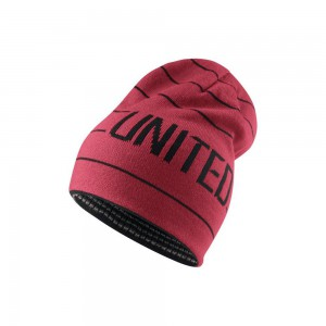 NIKE MANCHESTER UNITED BONNET ROUGE