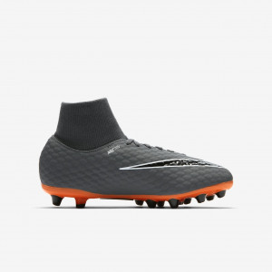 NIKE HYPERVENOM PHELON 3 ACA DF AGPRO JUNIOR GRIS/ORANGE 2018