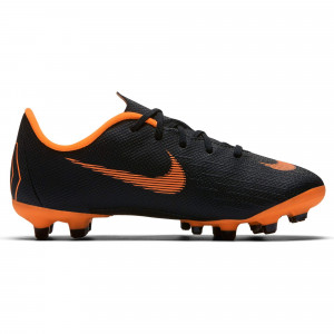 NIKE MERCURIAL VAPOR 12 ACA PS MG JUNIOR NOIR/ORANGE