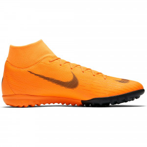 NIKE MERCURIAL SUPERFLYX 6 ACA TF ORANGE/NOIR
