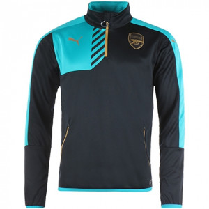 PUMA ARSENAL TRG TOP NOIR/OR 2015/2016