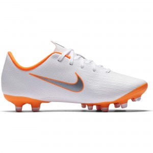 NIKE MERCURIAL VAPOR 12 ACA PS MG JUNIOR BLANC