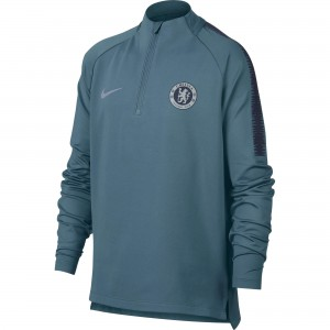 NIKE CHELSEA TRG TOP JUNIOR BLEU 2018/2019