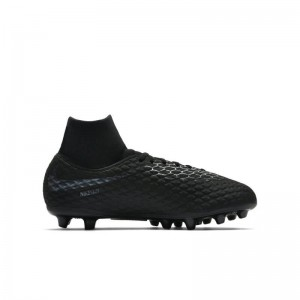 NIKE HYPERVENOM PHANTOM 3 ACA DF AG JUNIOR NOIR
