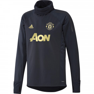ADIDAS MANCHESTER UNITED WARM TOP MARINE 2018/2019