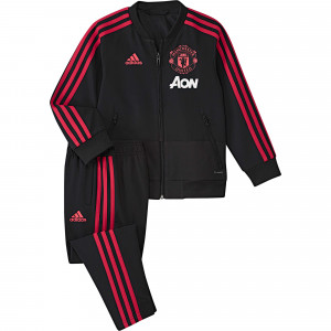 ADIDAS MANCHESTER UNITED PRE SUIT IN NOIR 2018/2019