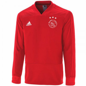 ADIDAS AJAX TRG TOP ROUGE 2018/2019