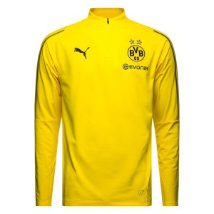PUMA DORTMUND TRG TOP JUNIOR JAUNE 2018/2019