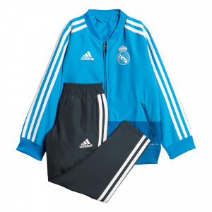 ADIDAS REAL MADRID PRE SUIT IN BLEU 2019