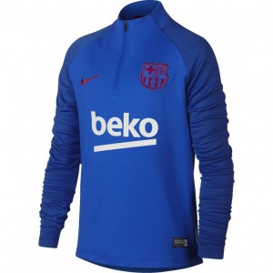 NIKE BARCELONE TRG TOP JUNIOR BLEU 2019/2020