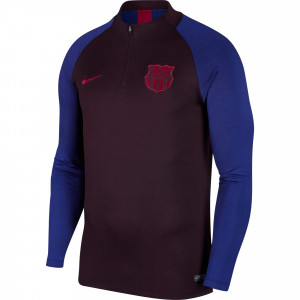 NIKE BARCELONE TRG TOP BORDEAUX 2019/2020