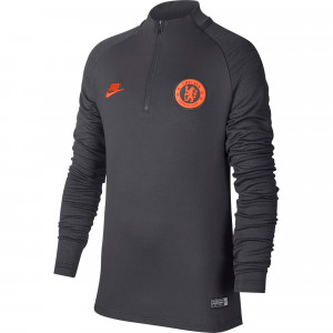 NIKE CHELSEA TRG TOP JUNIOR GRIS 2019/2020