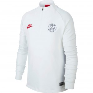 NIKE PSG TRG TOP JUNIOR BLANC 2019/2020