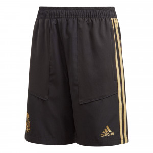 ADIDAS REAL MADRID WOVEN SHORT JUNIOR NOIR 2019/2020