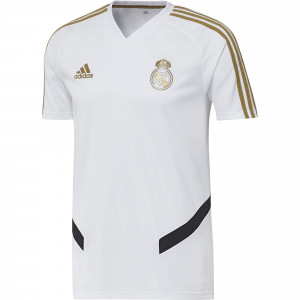 ADIDAS REAL MADRID MAILLOT ENTRAINEMENT BLANC 2019/2020