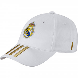 ADIDAS REAL MADRID CASQUETTE BLANC 2019/2020