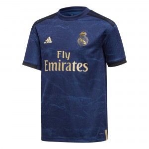 ADIDAS REAL MADRID MAILLOT EXTERIEUR JUNIOR 2019/2020