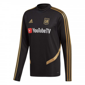 ADIDAS LOS ANGELES FC TRG TOP NOIR 2019/2020