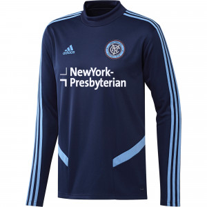 ADIDAS NEW YORK CITY TRG TOP BLEU 2019/2020