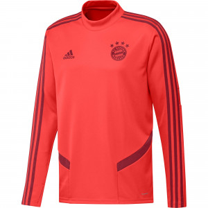 ADIDAS BAYERN TRG TOP ROUGE 2019/2020
