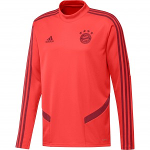 ADIDAS BAYERN TRG TOP JUNIOR ROUGE 2019/2020