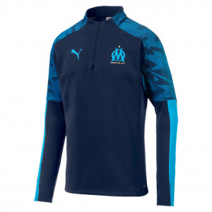PUMA OM TRG TOP FLEECE MARINE 2019/2020