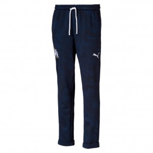 PUMA OM SWEAT PANT JUNIOR MARINE 2019/2020