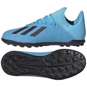 ADIDAS X 19.3 JUNIOR TF BLEU