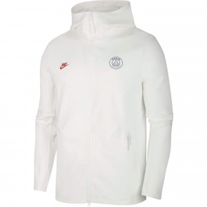NIKE PSG TECH FLEECE JKT BLANC 2019/2020