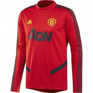 ADIDAS MANCHESTER UNITED TRG TOP ROUGE 2019/2020