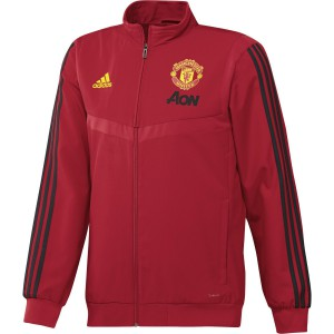 ADIDAS MANCHESTER UNITED PRE JKT ROUGE 2019/2020
