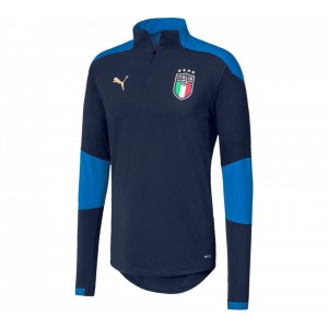 PUMA ITALIE TRG TOP JUNIOR MARINE 2020