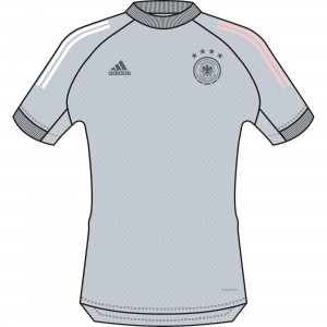 ADIDAS ALLEMAGNE TRG JSY GRIS CLAIR 2020