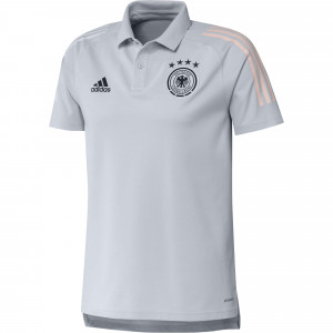 ADIDAS ALLEMAGNE POLO GRIS CLAIR 2020