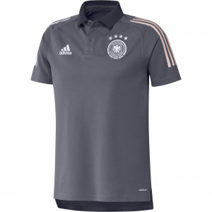 ADIDAS ALLEMAGNE POLO ANTHRACITE 2020