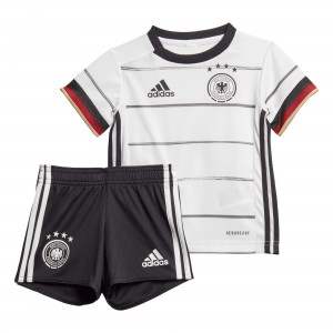 ADIDAS ALLEMAGNE MINIKIT BABY DOMICILE BLANC 2020