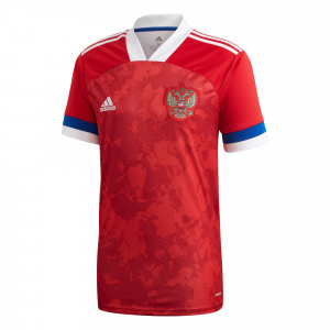 ADIDAS RUSSIE MAILLOT DOMICILE ROUGE 2020