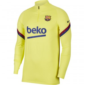 NIKE BARCELONE TRG TOP JAUNE 2020