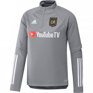 ADIDAS LOS ANGELES FC TRG TOP GRIS 2020