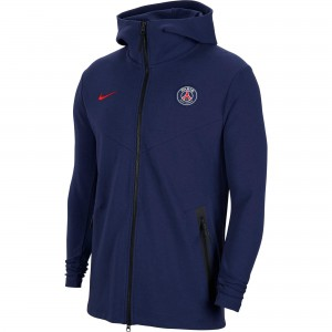 NIKE PSG TECH FLEECE JKT MARINE 2020/2021