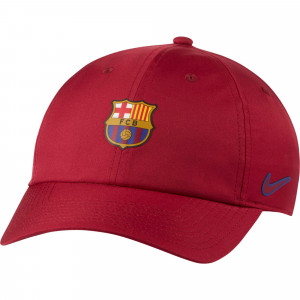 NIKE BARCELONE CASQUETTE ROUGE 2020/2021