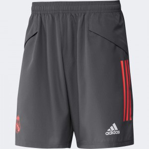 ADIDAS REAL MADRID WOVEN SHORT GRIS 2020/2021