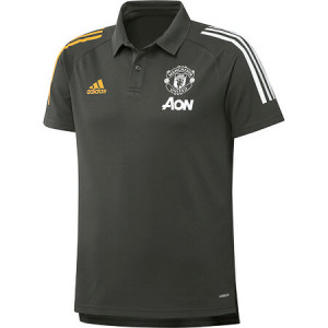 ADIDAS MANCHESTER UNITED POLO GRIS 2020/2021
