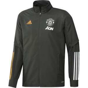 ADIDAS MANCHESTER UNITED PRE JKT GRIS 2020/2021