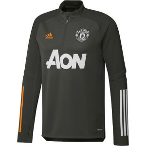ADIDAS MANCHESTER UNITED TRG TOP GRIS 2020/2021