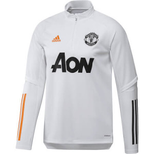 ADIDAS MANCHESTER UNITED TRG TOP BLANC 2020/2021
