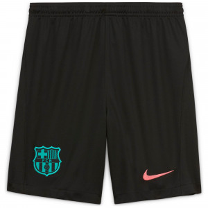 NIKE BARCELONE SHORT THIRD JUNIOR NOIR 2020/2021